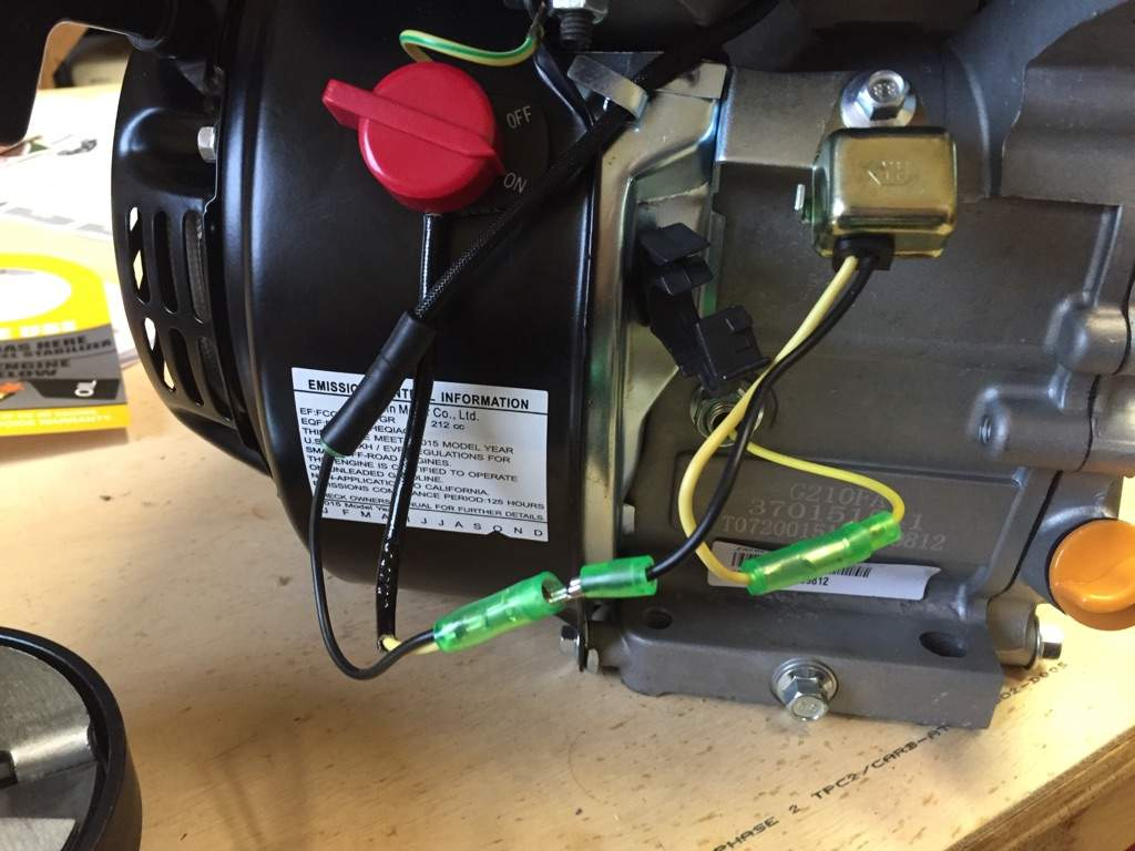 How To Wire Kill Switch On Predator 212