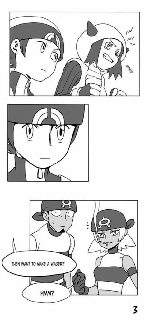 dating a team magma grunt part 3