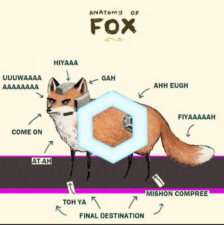 The anatomy of melee fox | Smash Amino