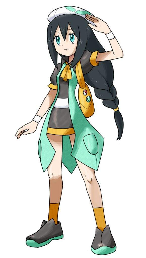 Pokemon Gen 4 Anime Characters : Pokemon sun moon trainer designs pokémon amino