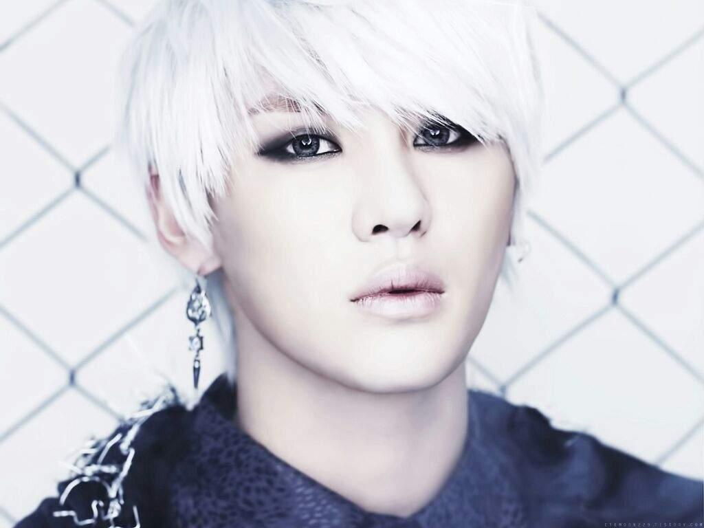 White Kpop Hair K Pop Amino