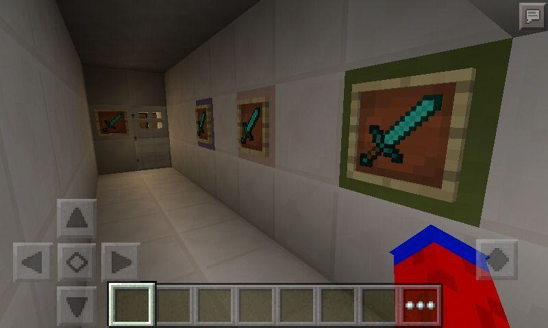 I build a password item frame combination | Minecraft Amino