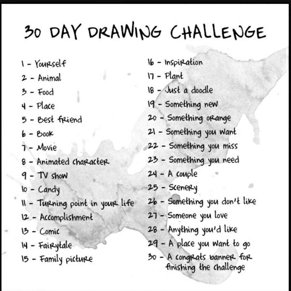 30 Day Drawing Challenge Neko Amino