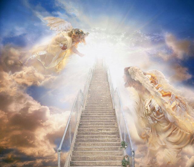 Heaven Is The Home Of Angels And Former Fallen It A Place High Above Clouds Where Normal Entry Through Large Gate