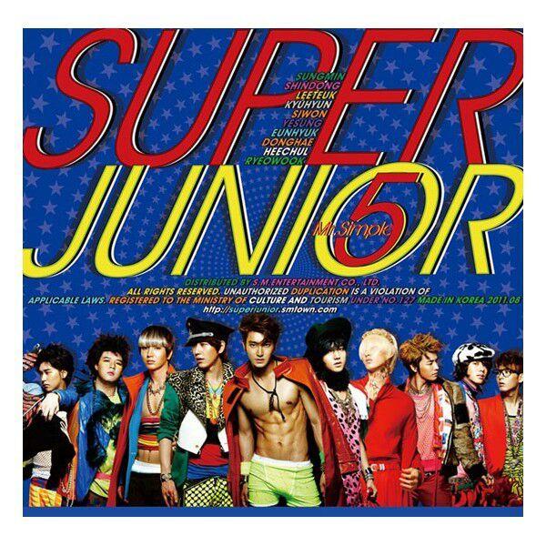 Imagini pentru mr simple super junior album cover