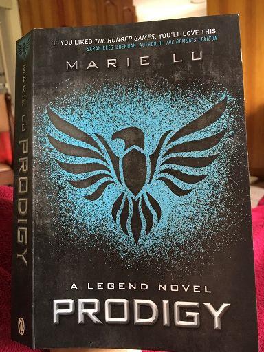 Prodigy Book Marie Lu