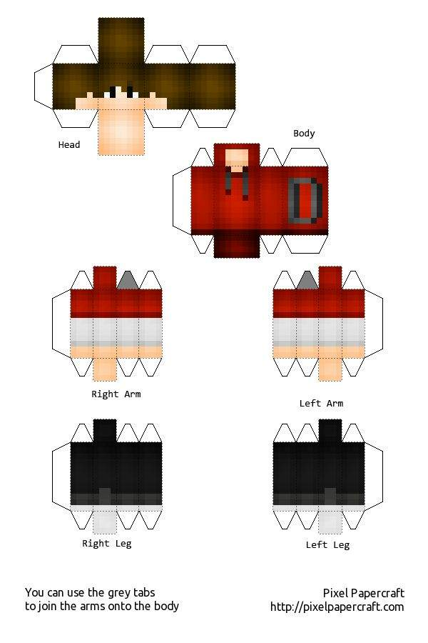 PaperCraft Template GIVEAWAY | Minecraft Amino