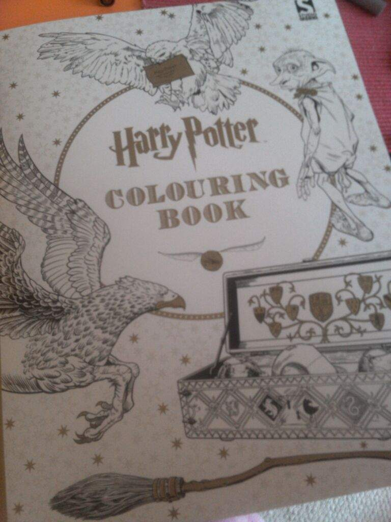 Review Of A Hp Colouring Book This Is Perfect For People Who Love Obviously And Also Detailed Stuff
