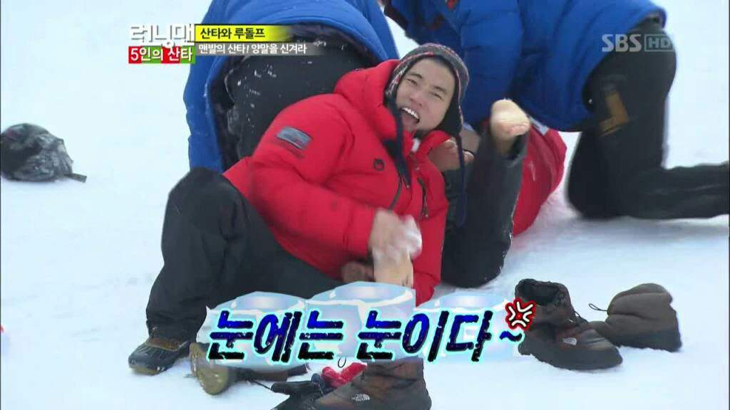 Image of: Kwang Soo Gary Has Become Known As The King Of Christmas Episode And Its For Reason He Has Won All Four Christmas Episodes That Running Man Has Had Dramabeans Top Ten Moments Kang Gary Was Random Mr Capable Kdrama Amino