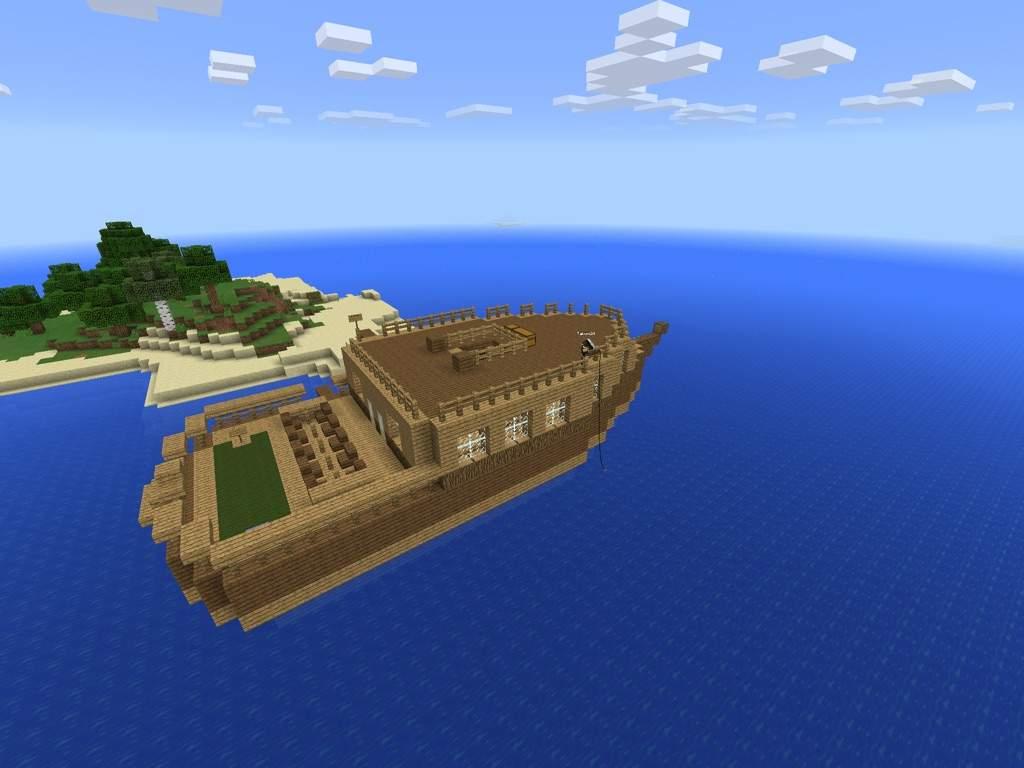 Boat House  Minecraft Amino