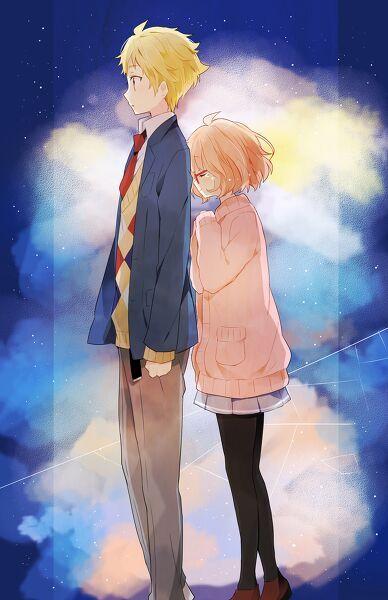 Kyoukai No Kanata Wallpapers Anime Amino