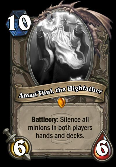 Even though this is kind of broken I think hearthstone needs some card like  this. Blizzard has said that they don't want otk combos to be possible, ...