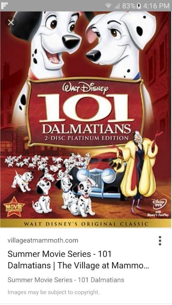 101 dalmatians underrated didney movies cartoon amino