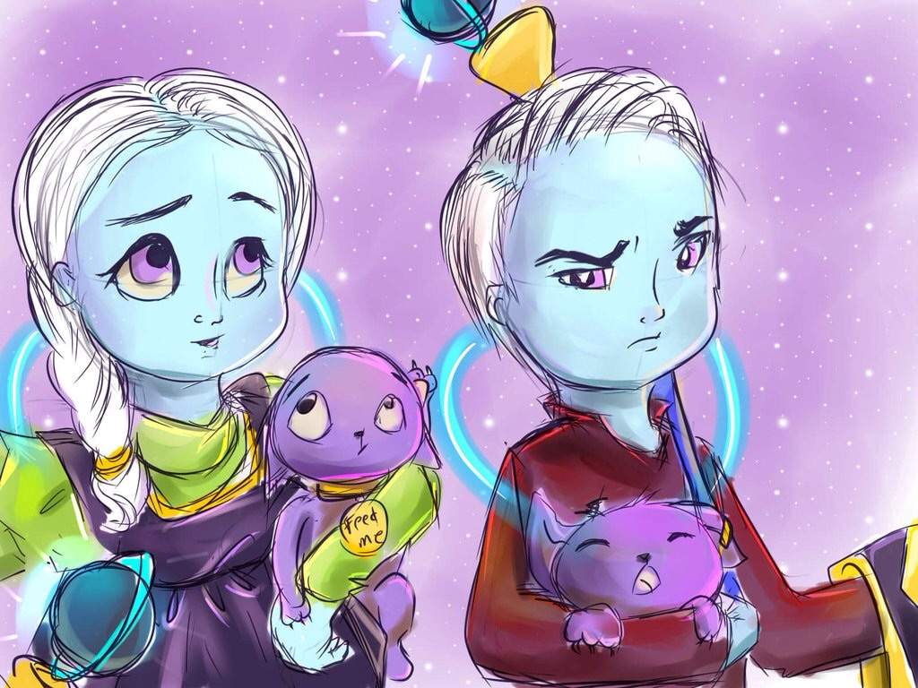 what if whis and vados were the creator of beerus and champa