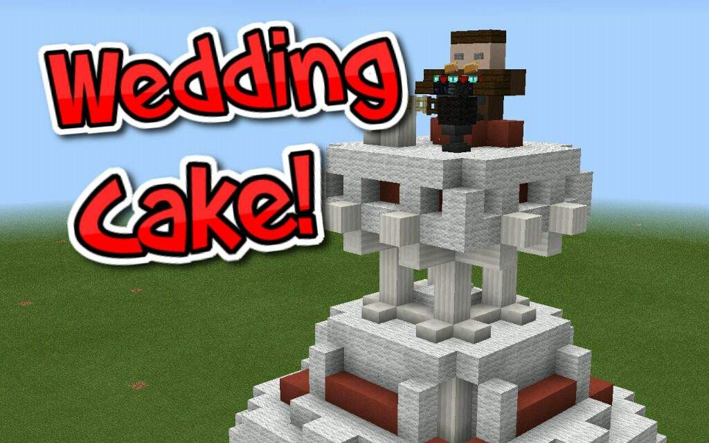 Wedding Cake Build Minecraft Amino