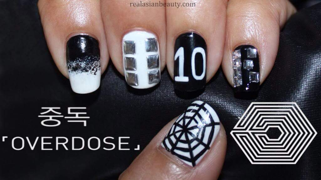 Cute Nail Art To Heart Exo❤ | K-Pop Amino