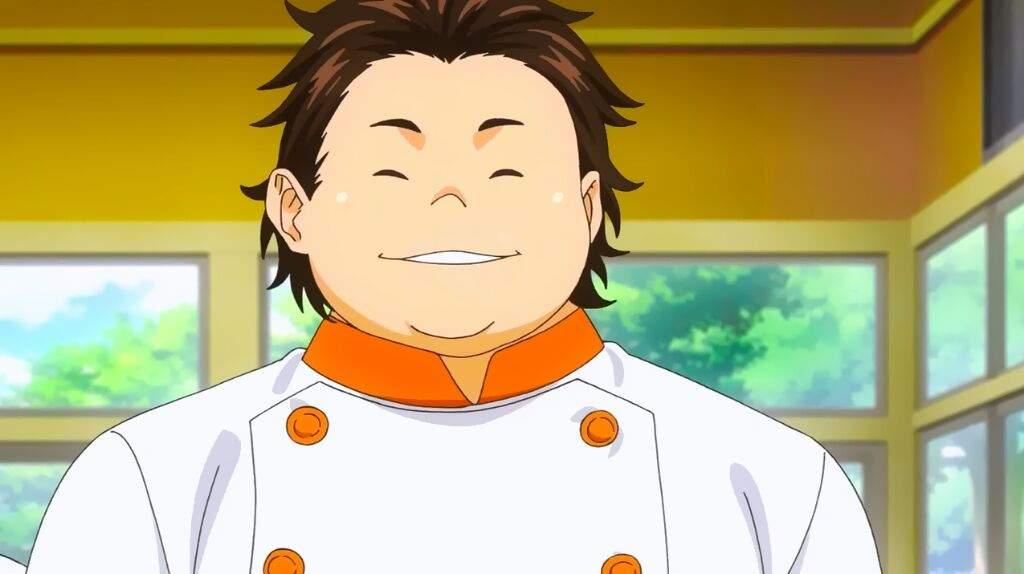 Fat anime guy