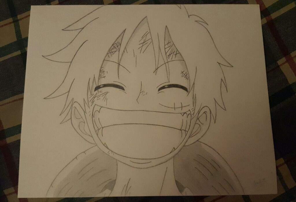 Monkey D Luffy Drawing Anime Amino
