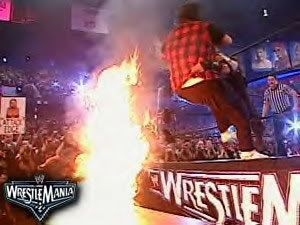 Image result for Edge vs Mick Foley: Wrestlemania