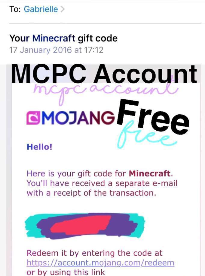 Minecraft Gift Code Giveaway - Gift Ideas