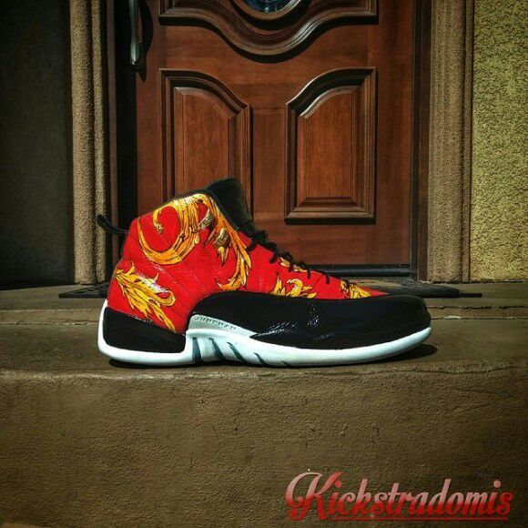 online store de95c a4f74 Custom Jordan 12s..since they released Fbs and wings ...