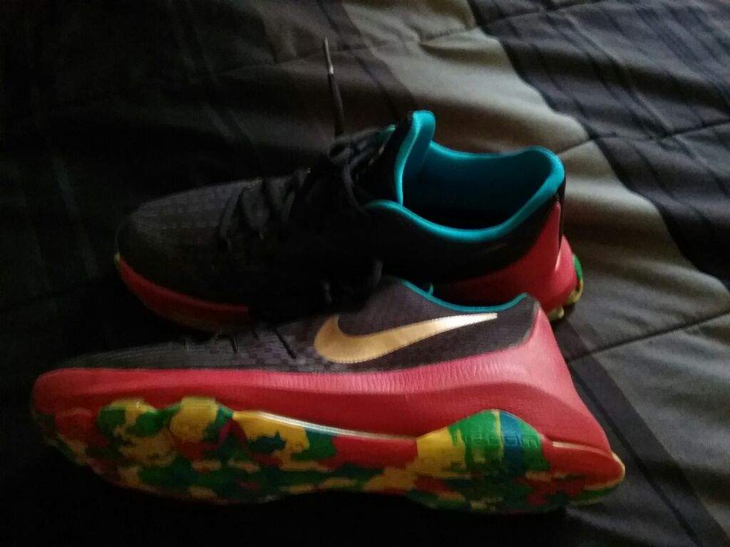 Just Copped the KD 8 Fruity pebbles