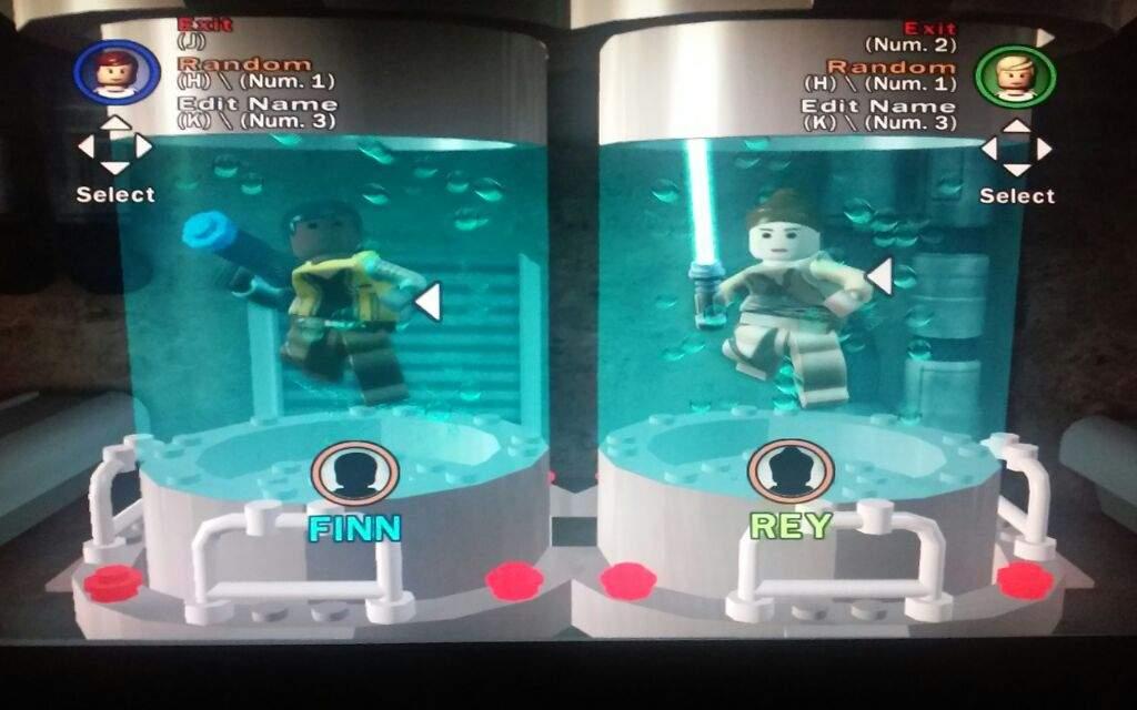Lego Star Wars The Complete Saga: Finn and Rey | Star Wars Amino