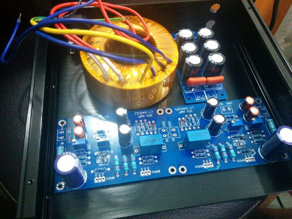 Zen Class A Headphone Amplifier | Maker Amino