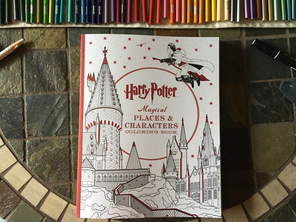 Harry Potter Collectable Coloring Kit And Im Going To Tell You All About It Last Now For The First Book Show Is Brand New One