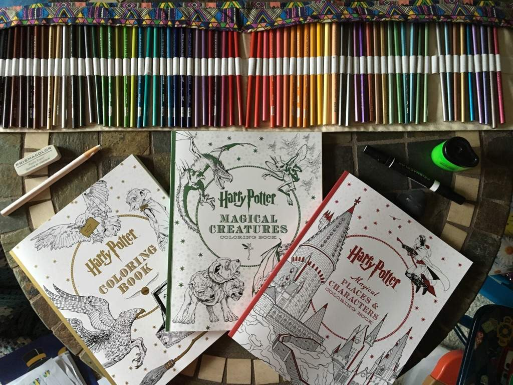 HP Coloring Books | Wiki | Harry Potter Amino
