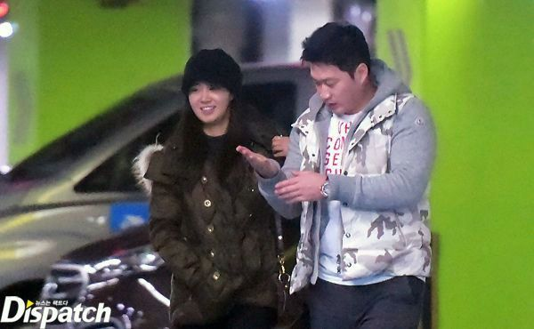 Korean actors and actresses dating athletes