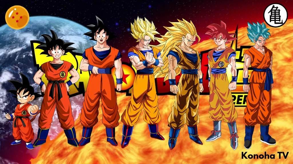 Which Dragon Ball Z Transformation You Like Best Anime