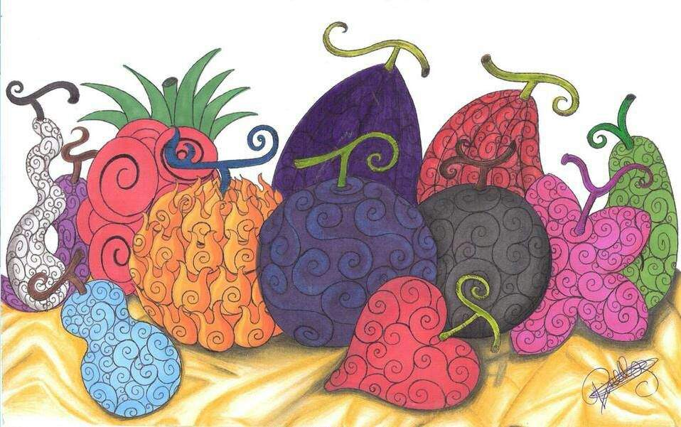 Devil fruit's   Anime Amino