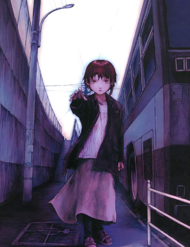 Lain Iwakura Is A Lonely Childish Girl With Parents Who Are Always Absent Her Home Is The Virtual Space Of The Internet At The End Of The Series She