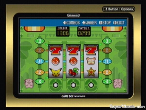 Slot Machine Pokemon Leaf Green