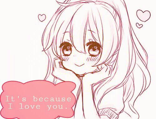it s because i love you anime amino