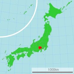 A Real Life Version Of InabaPersona S Setting Place In The - Japan map persona 4