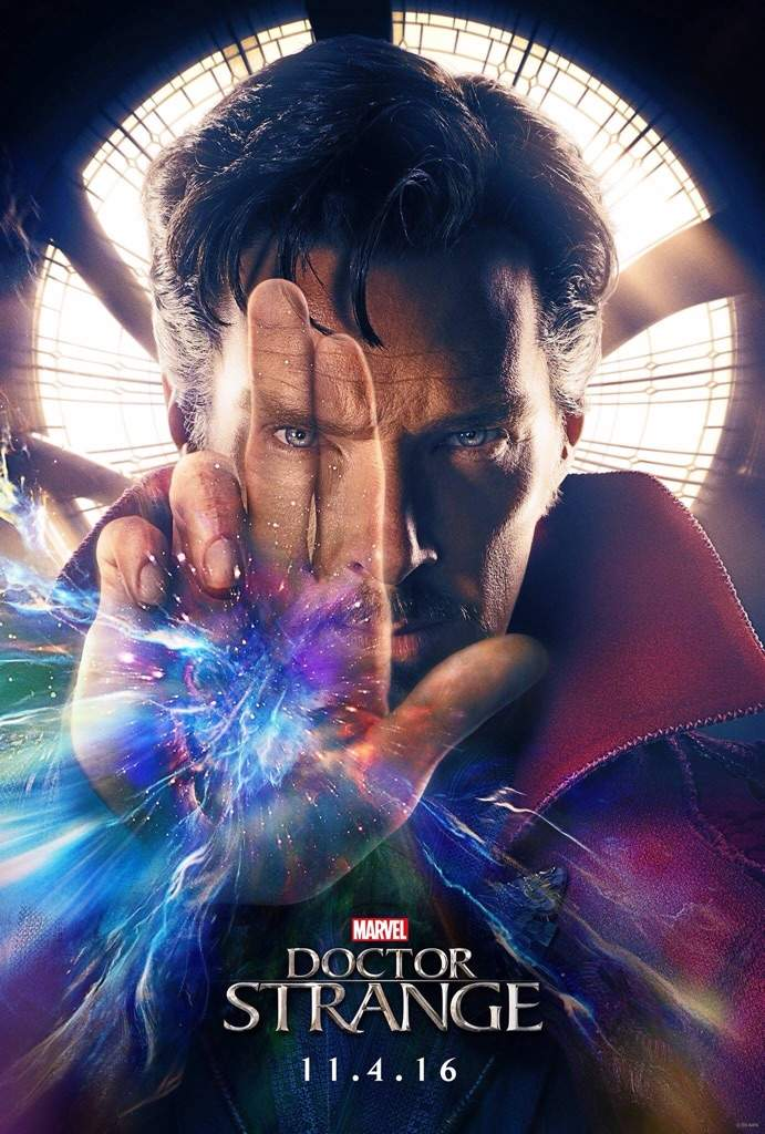 First Poster For Doctor Strange And Logos For Spider Man Homecoming