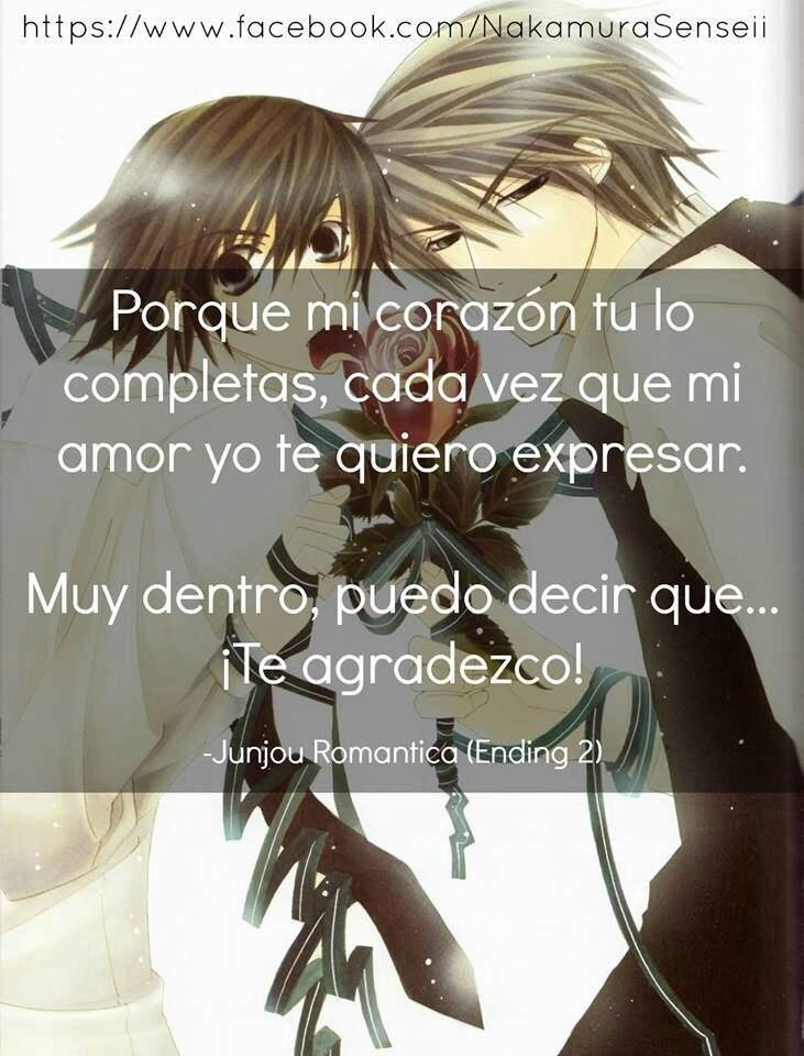 Frases Romanticas Del Yaoi Anime Amino