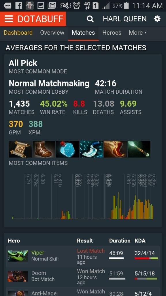 DotA 2 6,79 matchmaking