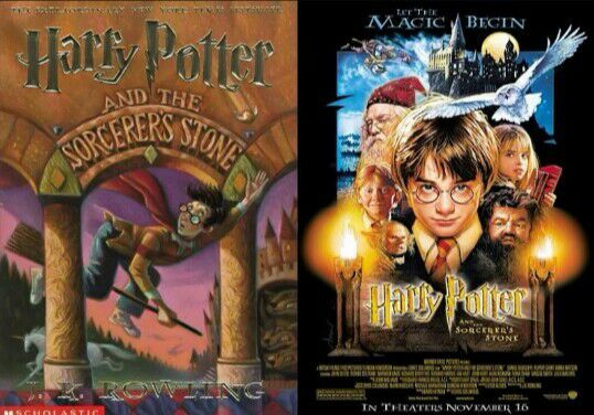harry potter movie book differences
