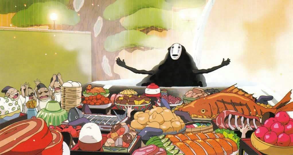Image result for anime dinner