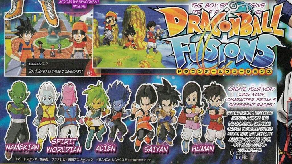 Dragon ball fusions! | DragonBallZ Amino