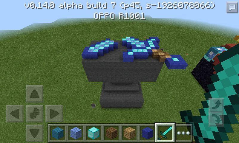 3d huge anvil with a broken sword minecraft amino
