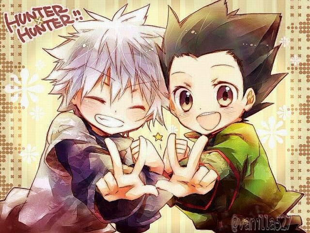 Reason Firstly Gon Is A Really And I Mean REALLY Likable Character His Enthusiasm Motivation Makes Him Sweet Cute Secondly Killua To Me