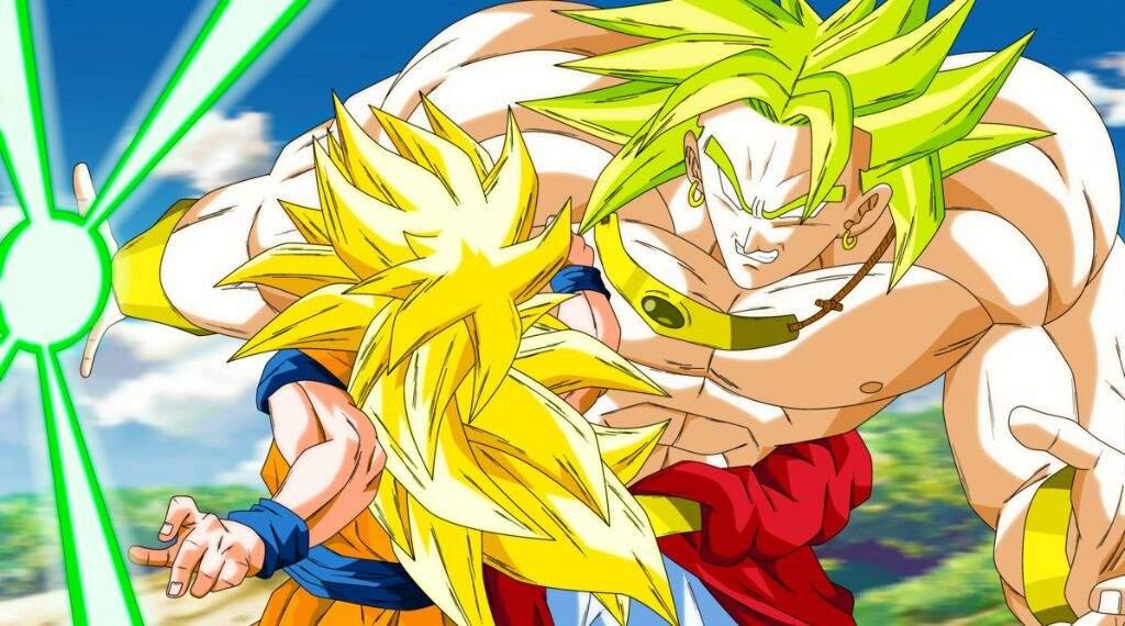 Goku Ssj4 Vs Goku Ssj3: LSSJ Broly Vs SSJ3 Goku! Who Would Win?