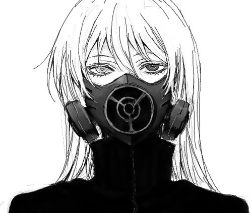 Anime In Mask: Anime Gas Mask