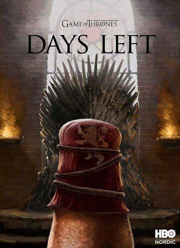 Αποτέλεσμα εικόνας για game of thrones 0 days left