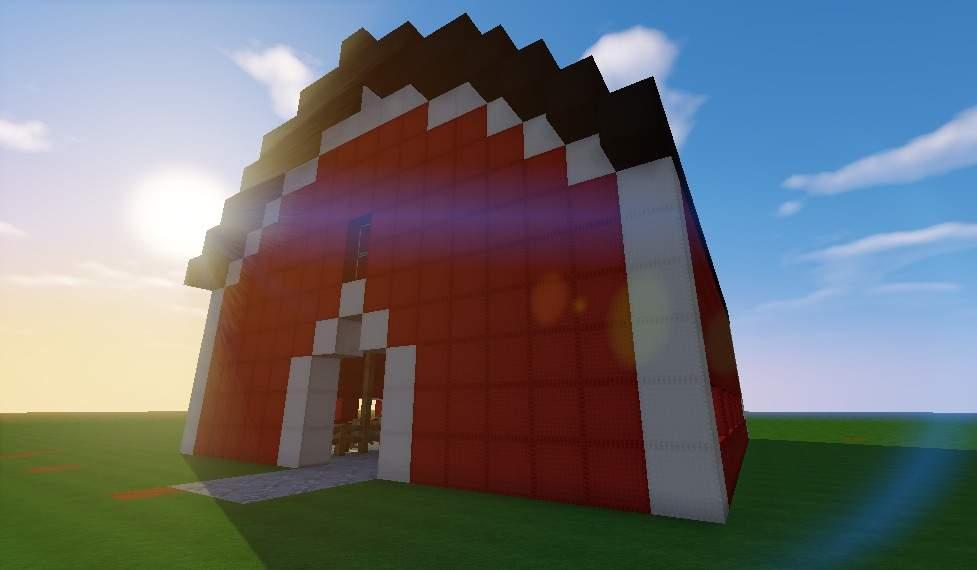 Tutorial How To Build A Barn Minecraft Amino