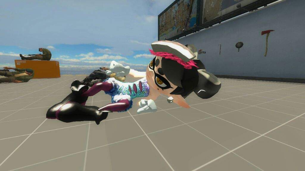 Callie mod in Left 4 Dead 2? (WiP) | Splatoon Amino